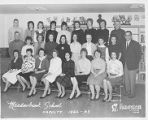 Meadowbrook Elementary School Faculty Photo 1962-1963
