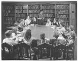 Student Council Meeting at Crestwood School 1955