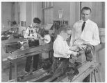 Woodworking Class 1955