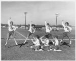 Northbrook Junior High Cheerleaders Circa 1960s Version 2