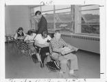 Northbrook Junior High School Math Class, September, 1959