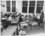 New Math Program Meeting at Crestwood Elementary School 1960s