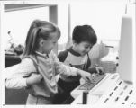 Westmoor Elementary School Kindergartners at Computer 1984 Version 2