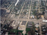 Loves Park aerial view showing North Second Street