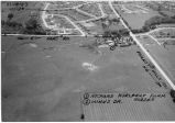 Loves Park Aerial View showing Richard Hurlbert Farm