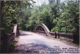 Hononegah Forest Preserve bridge