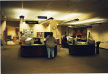 North Suburban Library District/Loves Park circulation desk