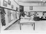 Harlem Consolidated School Domestic Science Class