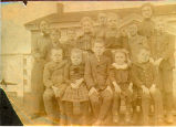 West Lane School children, Argyle, Illinois, 1902