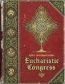 Eucharistic Congress souvenir book-D0001