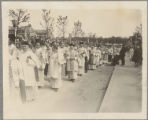 Bishops and priests in the Eucharistic Procession
