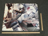Picture Board, Close-up of Astronaut bending over