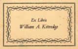 William A. Kittredge