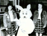 St. Mary's Grade School Gets Visit from Easter Bunny