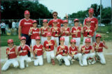 Metamora Youth Baseball Team 9-10-year-olds 1989