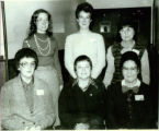 New Officers of the Metamora Women's Club 1984