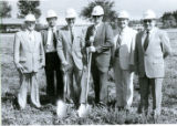 Symbolic Groundbreaking Ceremony for the Bertha Snyder Healthcare Center in Metamora, Illinois 1984