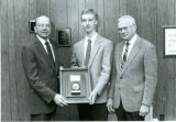 Michael L. Peterson Received the Honeywell Award in the Study of Engineering 1988