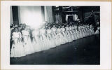 The 36 State Belles at the Cotillion Ball, centennial celebration of the return of U. S. Grant to...