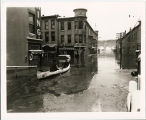 1937 Flood of the Galena River at Hill and Main Streets