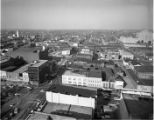 View of downtown from the top of the the Illinois Building, Springfield, Illinois