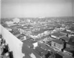 View of downtown, from the top of the the Illinois Building, Springfield, Illinois