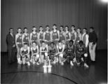 Basketball team [1966], Edison Jr. High, Springfield, Illinois
