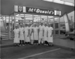 McDonald's staff, Springfield, Illinois