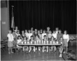 Girl Scout troop at West Grand School, Springfield, Illinois
