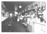 Interior of Haas' Drug Store
