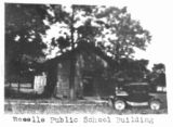 First Roselle Public School Building