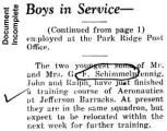 """Boys in Service"" (Document Incomplete)"
