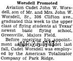 Worsdell Promoted
