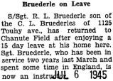 Bruederle on Leave