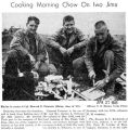 """Cooking Morning Chow on Iwo Jima"" (Photograph)"