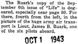 James Ruark was in a photograph on page eighty of the September sixth issue of _Life_