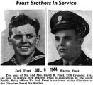 """Frost Brothers In Service"" (Photographs)"