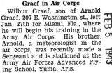 Graef in Air Corps