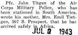 Tietgen wrote his mother that he had arrived safely in Africa