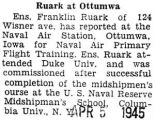 Ruark at Ottumwa