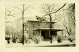 Photograph of the house at 420 S. Courtland in Park Ridge taken on November 30, 1931