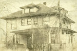 Photograph of the house at 420 S. Courtland taken sometime between 1910 and 1924