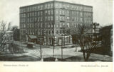 National Hotel---Peoria, Ill.    Peoria Souvenir Co., Box 367
