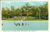 Wading Pool and Japanese Garden, Laura Bradley Park, Peoria, Ill.