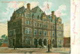 Government Building, Peoria, Ill.  (Handwritten note: Corner of Main and Monroe St.)