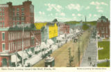 Main Street, looking toward the Bluff, Peoria, Ill.  Made expressly for Sander Bros.