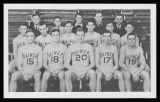 Basketball Team, Illinois State Champions, 1934