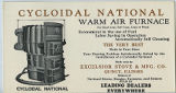 Cycloidal National Warm Air Furnace, Advertisement