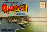Souvenir Folder of Quincy Illinois
