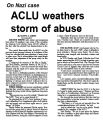 ACLU weathers storm of abuse